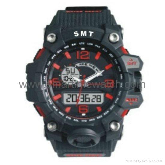 Analog Digital Sport Waterproof Watch SMT-2005 3