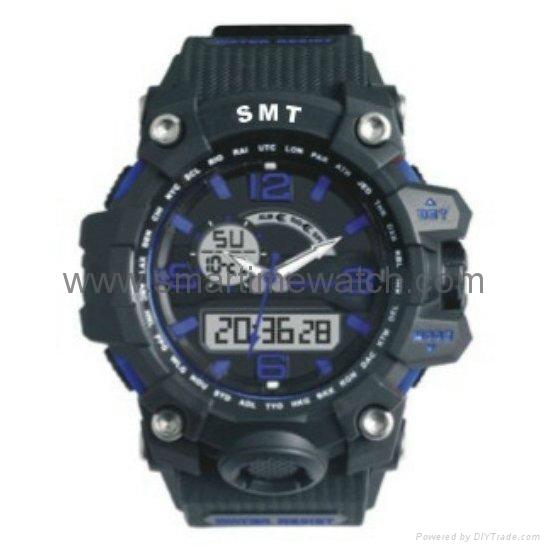 Analog Digital Sport Waterproof Watch SMT-2005 7