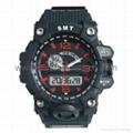 Analog Digital Sport Waterproof Watch SMT-2005 8