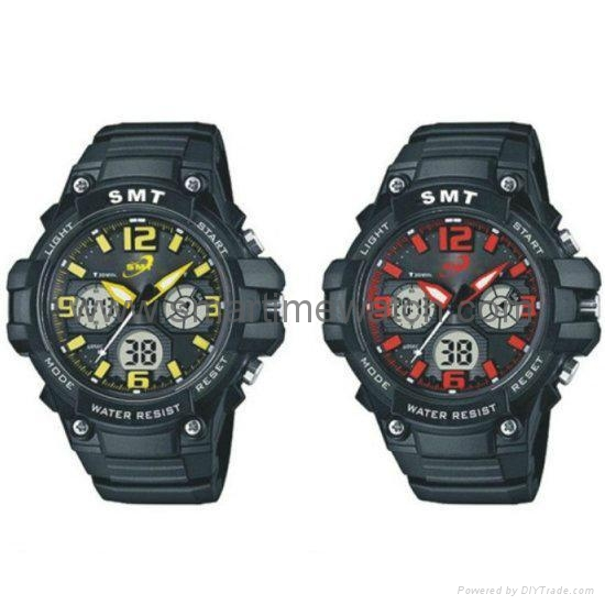 Analog Digital Sport Waterproof Watch SMT-2004 2
