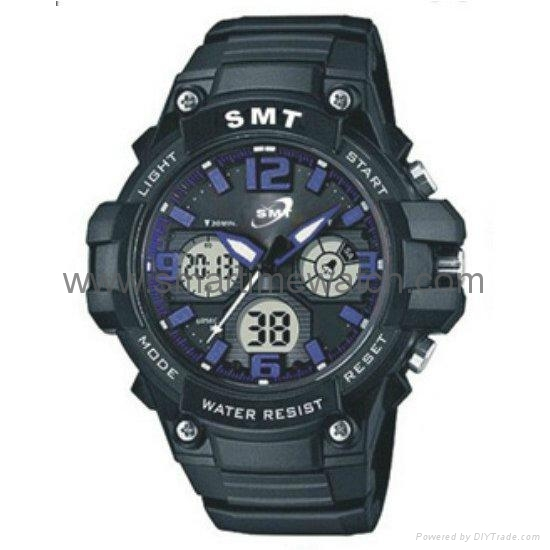 Analog Digital Sport Waterproof Watch SMT-2004 4