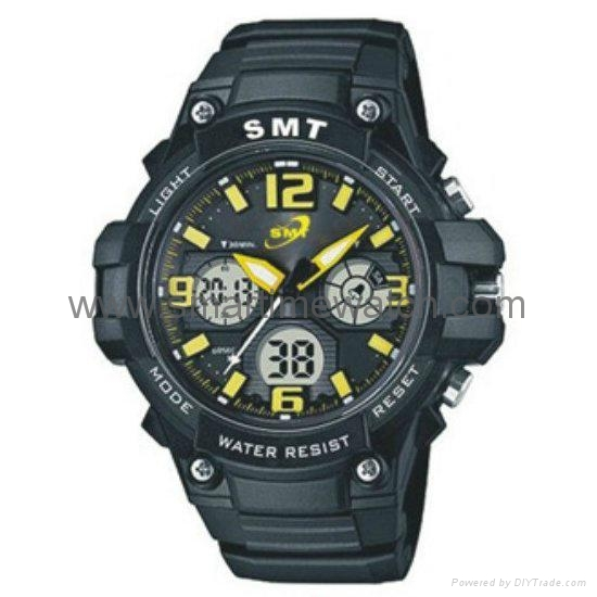 Analog Digital Sport Waterproof Watch SMT-2004 7