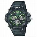 Analog Digital Sport Waterproof Watch SMT-2004 8