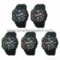 Analog Digital Sport Waterproof Watch SMT-2002 8