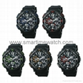 Analog Digital Sport Waterproof Watch SMT-2002