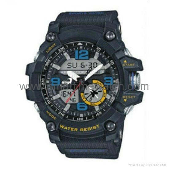Analog Digital Sport Waterproof Watch SMT-2001 4