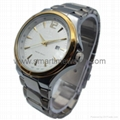 Alloy Case Watch , Golden Ring with