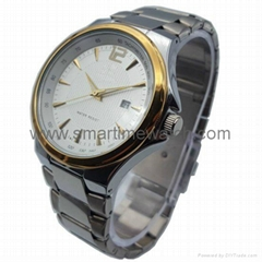 Alloy Case Watch , Golde
