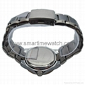 Alloy Case Watch , Golden Ring with Calendar SMT-1500 4