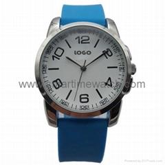 合金時尚簡約三針手錶 SMT-1508