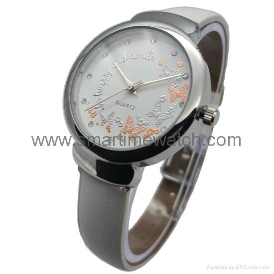 Alloy Fashion 3 hands Lady Watch SMT-1509 1
