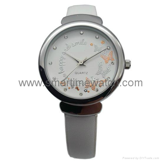 Alloy Fashion 3 hands Lady Watch SMT-1509 2