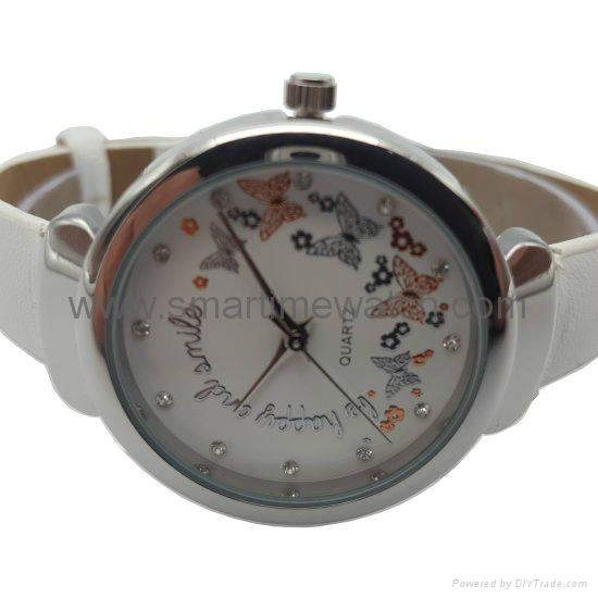Alloy Fashion 3 hands Lady Watch SMT-1509 3