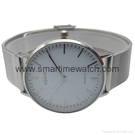 Fashion Watch with Alloy case and Mesh Band, SMT-5500 4