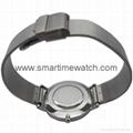 合金时尚超薄钢网织带手表 SMT-5500 5