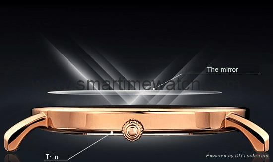 Alloy Ultra Thin Fashion Watch SMT-5501 9