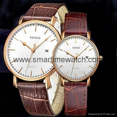 Alloy Ultra Thin Fashion Watch SMT-5501