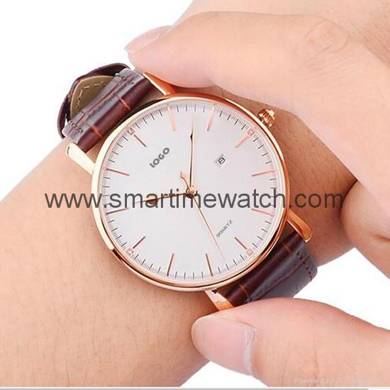 Alloy Ultra Thin Fashion Watch SMT-5501 8