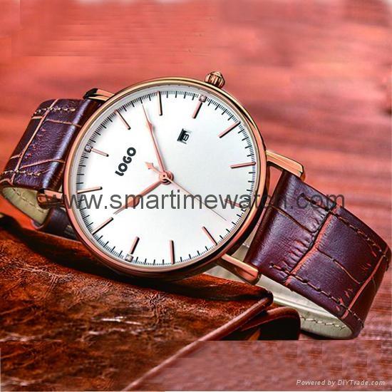 Alloy Ultra Thin Fashion Watch SMT-5501 5