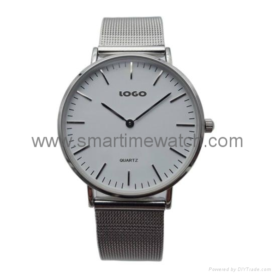 Alloy Luxury Ultra Thin Fashion Watch,  SMT-5500 1