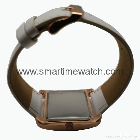 Rose Gold Color, Crystal Diamond Alloy Case Fashion Watch SMT-1510  5