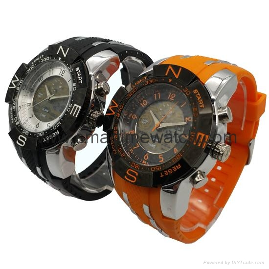 Multi Function Waterproof Digital LCD Alarm Sport Watch  SMT-2007 2