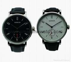 Alloy ultra thick watch fashion