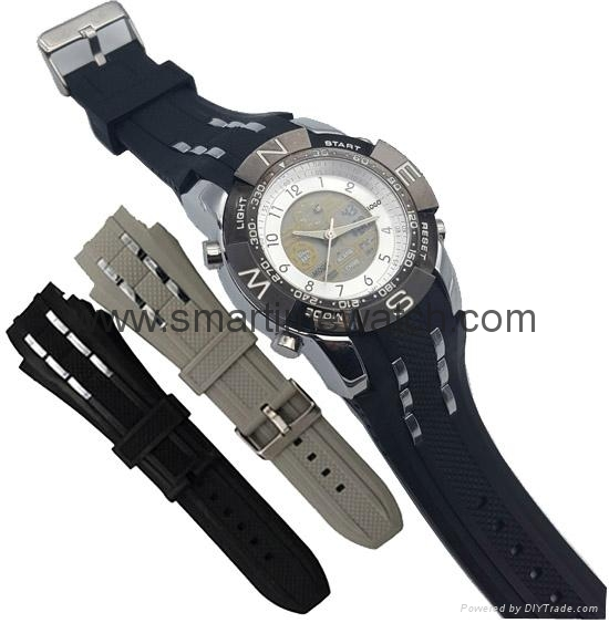 Multi Function Waterproof Digital LCD Alarm Sport Watch  SMT-2007 5