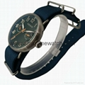 Stainless Steel Fashion Date Week 5 hands Watch SMT-1004  4