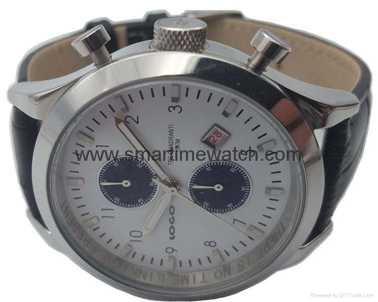 Stainless Steel Watch with Calendar SMT-1003 4