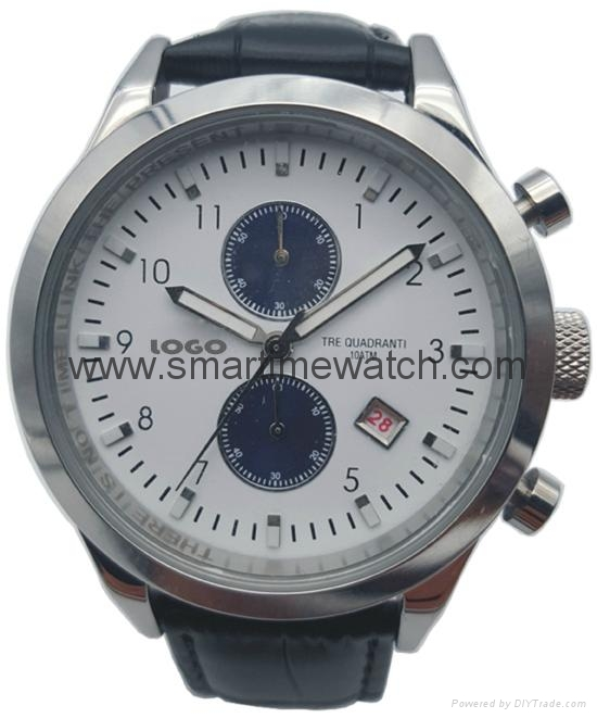 Stainless Steel Watch with Calendar SMT-1003