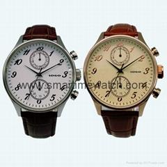 不鏽鋼時尚五針手錶 SMT-1005