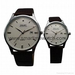 Alloy ultra thick watch