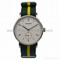 Stainless Steel Nylon Strap Fashion