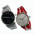 Stainless Steel Nylon Strap Fashion Watch SMT-1007 3
