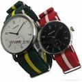 Stainless Steel Nylon Strap Fashion Watch SMT-1007 4