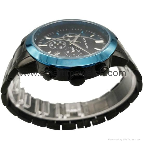 Stainless Steel Chronograph Watch SMT-1009 5