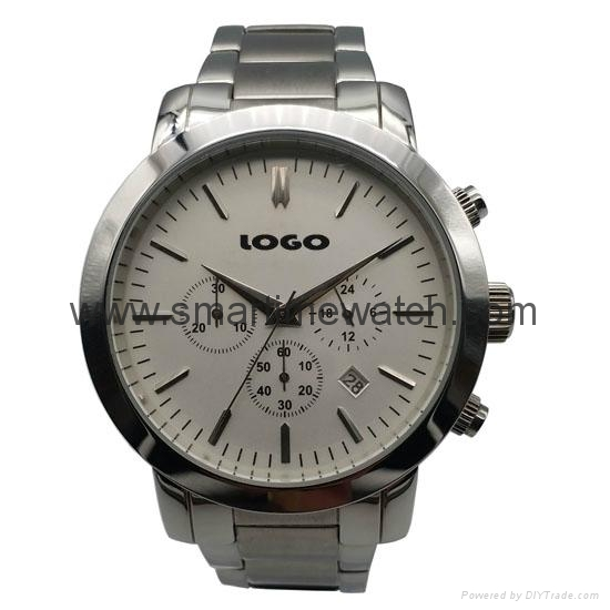 Men's Watch, Stainless Steel Case and Bracelet, SMT-1011 1