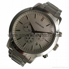 Men's Watch, Stainless Steel Case and Bracelet, SMT-1011