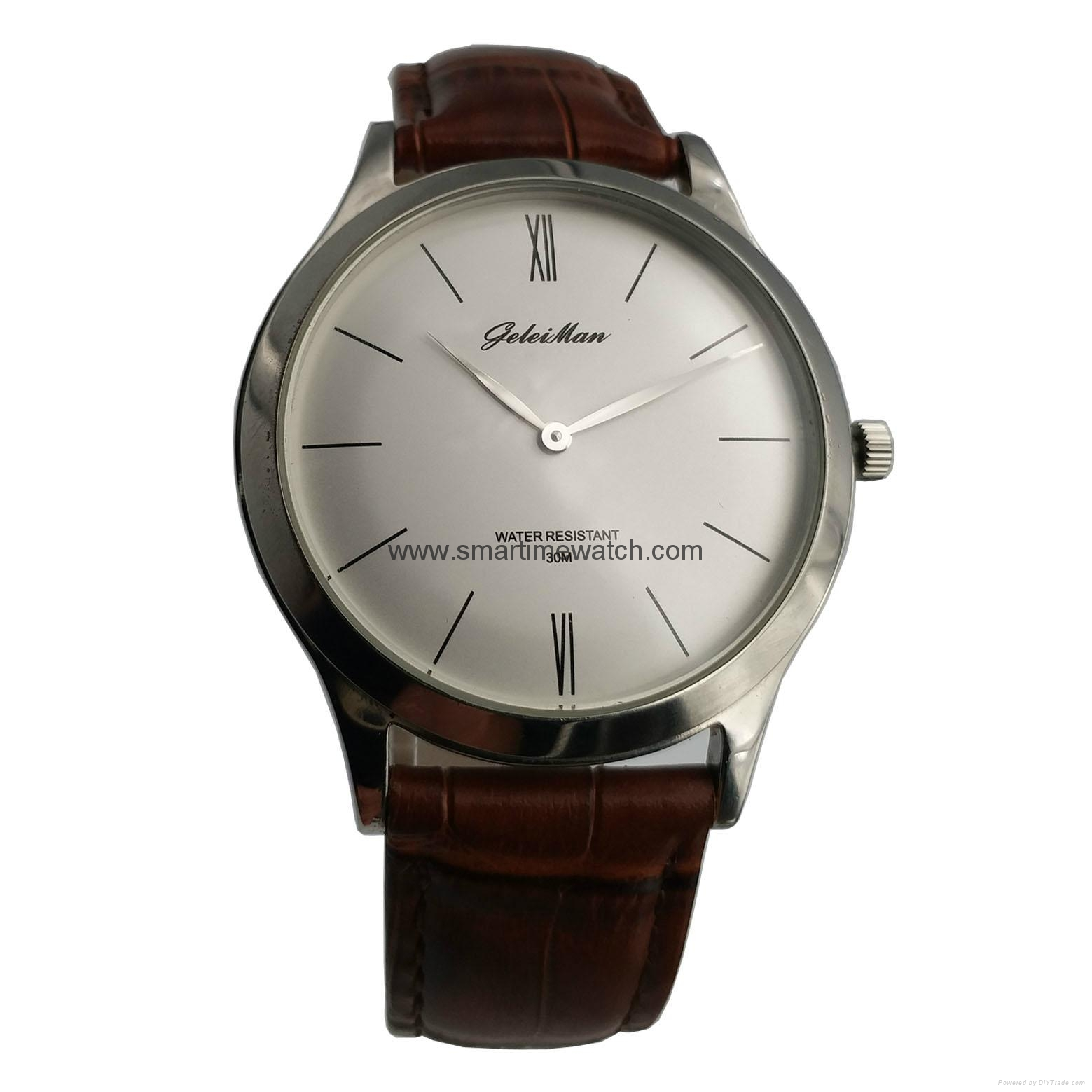 Men's Watch, Stainless Steel Case and Bracelet, SMT-1012 1