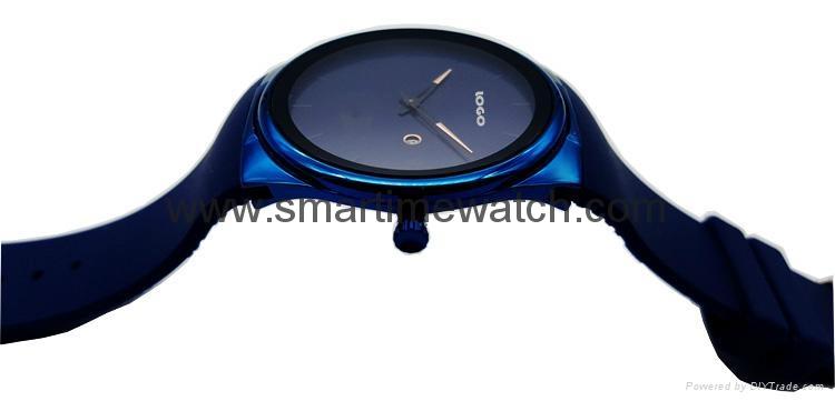 Alloy Luxury Ultra Thin Fashion Watch,  SMT-5505 2