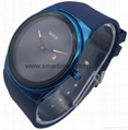 Alloy Luxury Ultra Thin Fashion Watch,