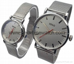 Alloy Luxury Ultra Thin Fashion Watch,  SMT-5505