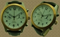 Men' Steel Luxury Fashion Leather Watch SMT-1013