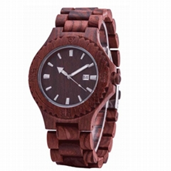 Wooden  Watch SMT-8028 (Hot Product - 1*)