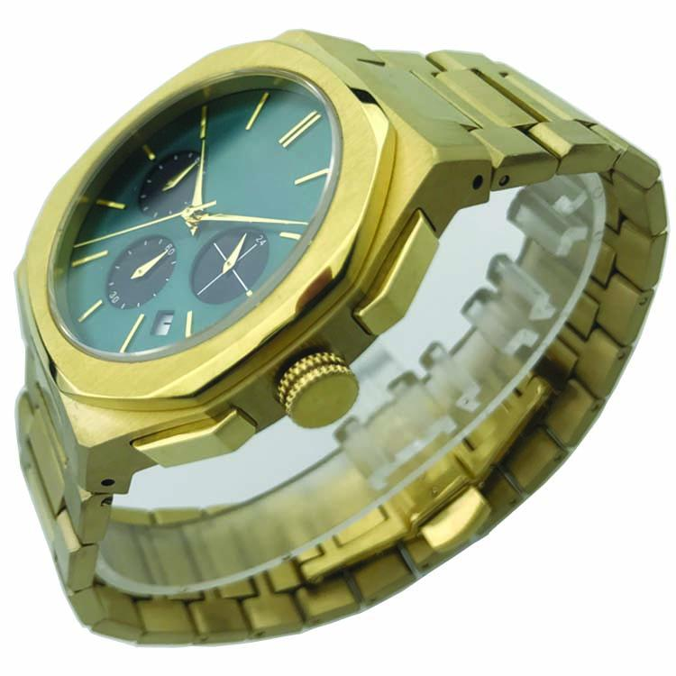 Stainless Steel Watch with Calendar SMT-1023 7