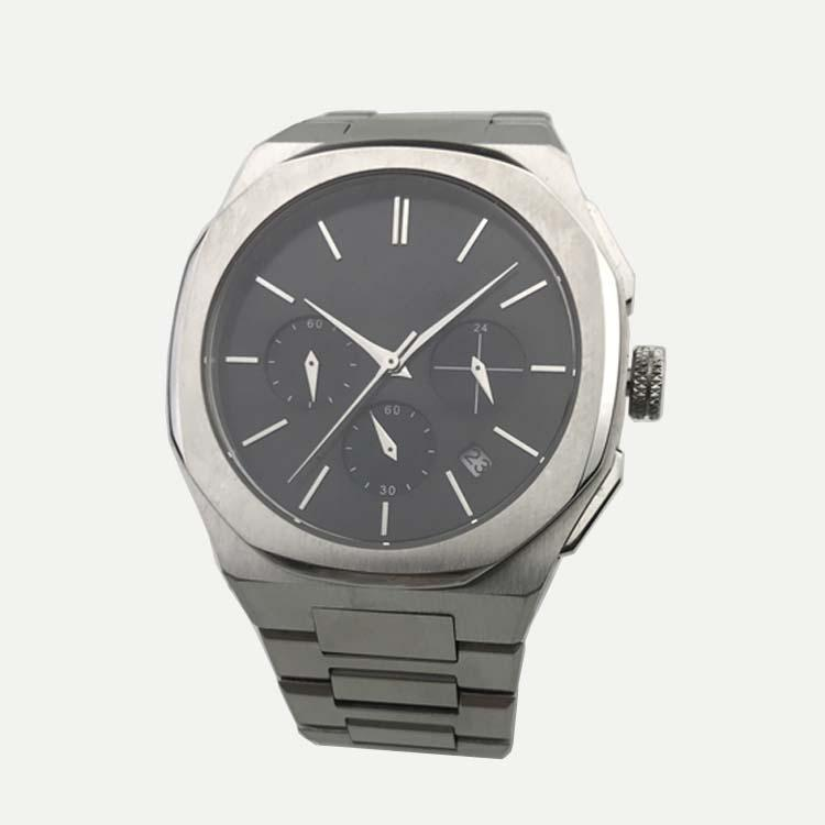 Stainless Steel Watch with Calendar SMT-1023 3