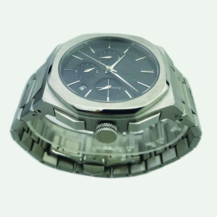 Stainless Steel Watch with Calendar SMT-1023 5