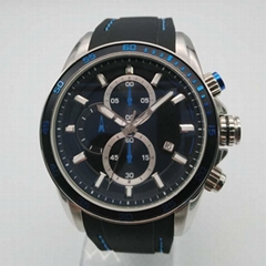 Stainless Steel Watch with Calendar SMT-1025 (Hot Product - 1*)