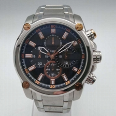 Stainless Steel Watch with Calendar SMT-1026